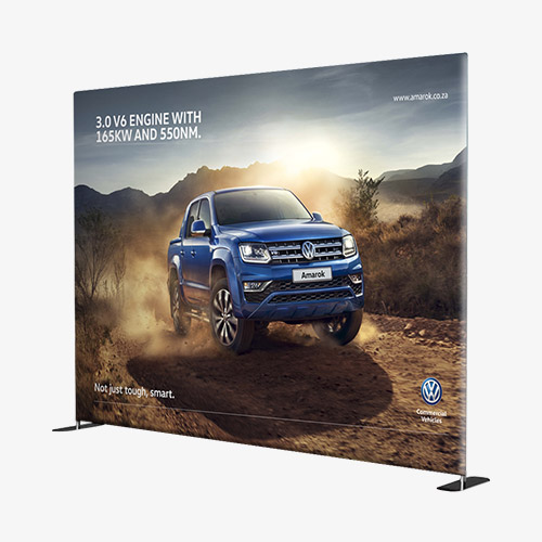 Branded Banner wall Backdrop